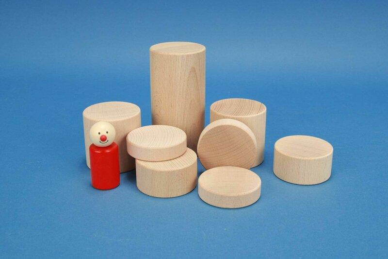 ronde houten blokken Ø 6 cm