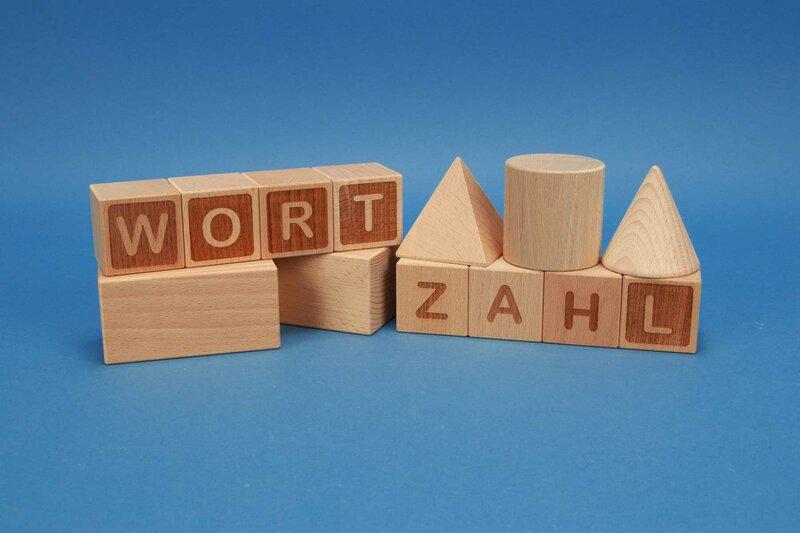Lesmateriaal van hout