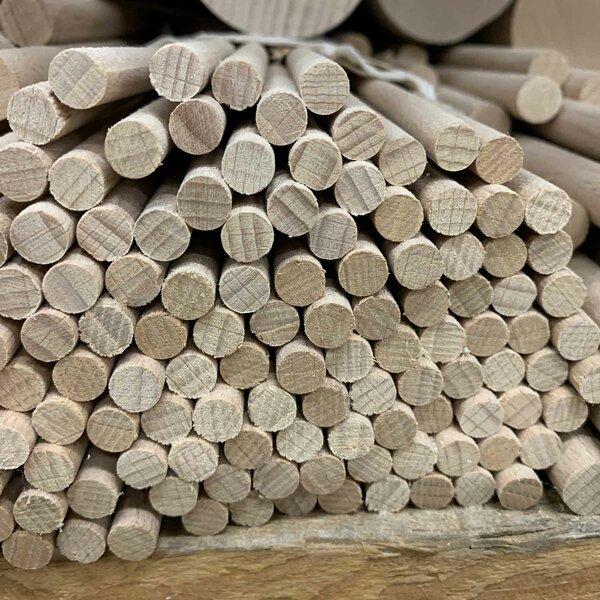 Ronde houten stokken Ø 20 mm 10 stuks 100 cm lang