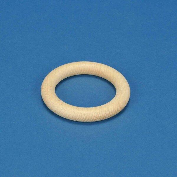 ring van beukenhout Ø 8,5 x 1,3 cm