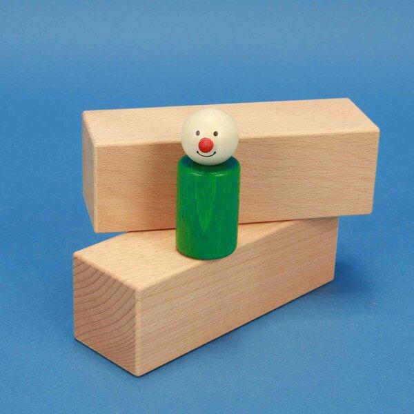 houten blokken 13,5 x 4,5 x 4,5 cm beuk