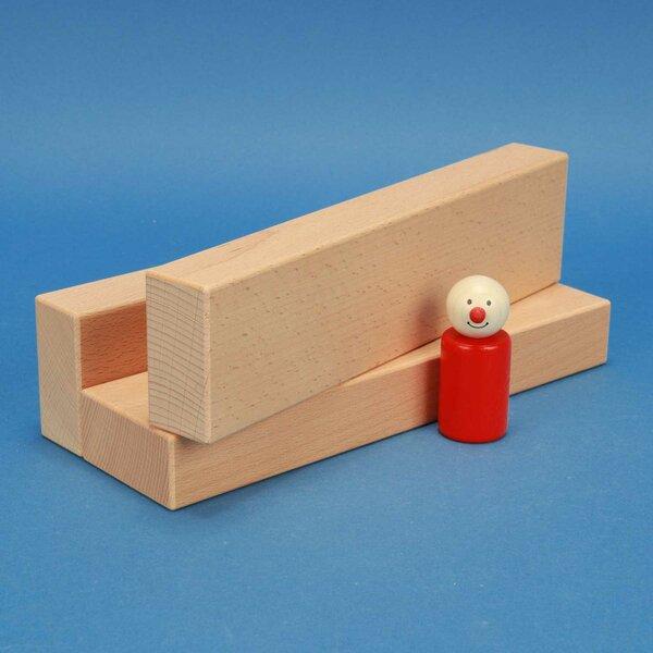 houten bouwblokken 24 x 6 x 3 cm