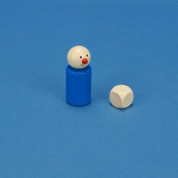Houten dobbelstenen blank 2 cm