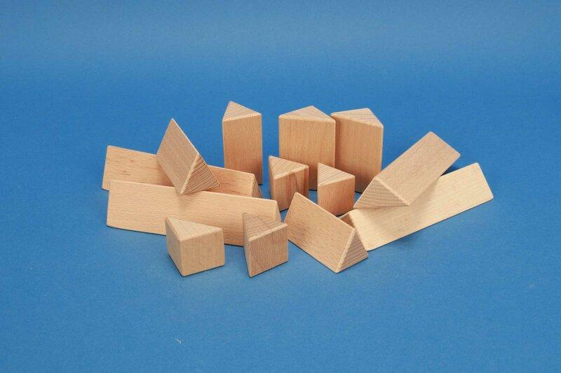 houten columns driehoekig 3 cm