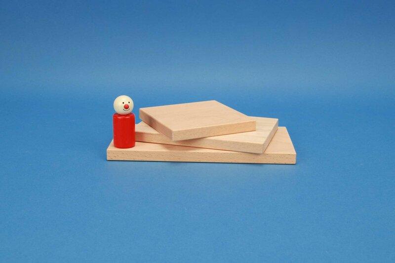 platte bouwblokken 12 x 1,5 cm