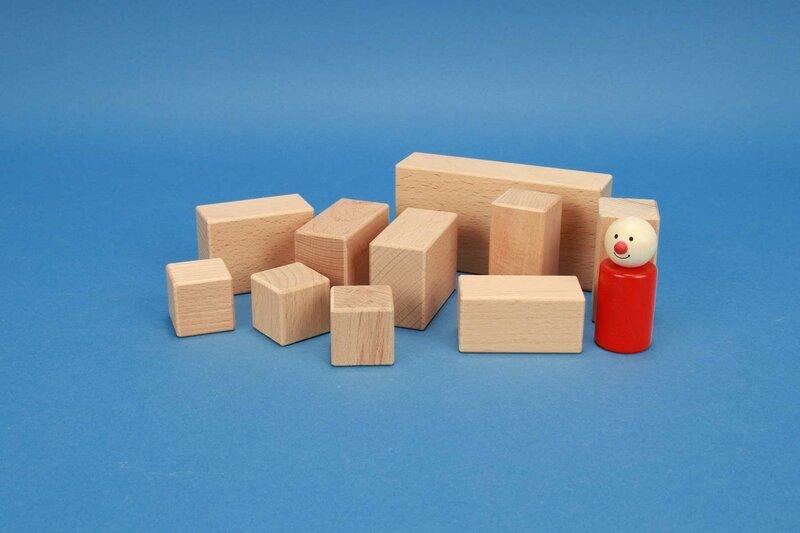 Wood stamps rectangular