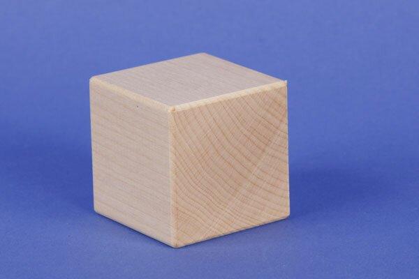 esdoorn kubus blokken 4,5 cm