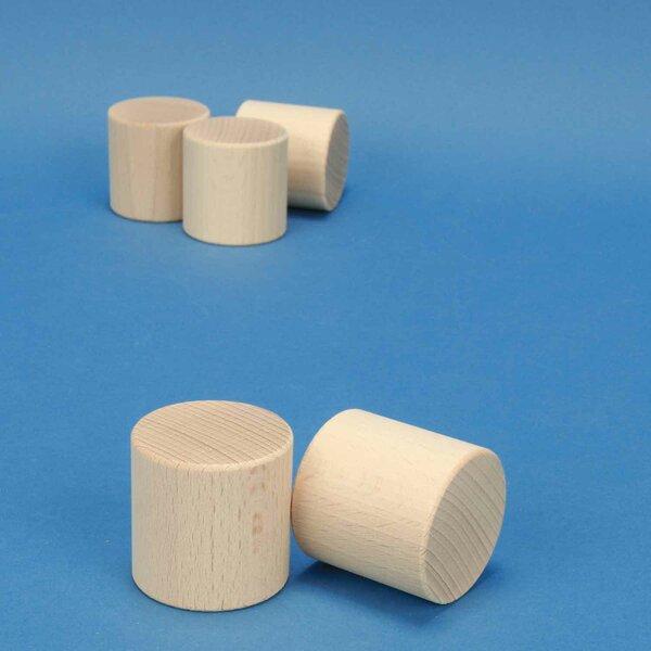 houten Cilinder Ø 4,5 x 4,5 cm