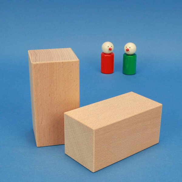grote houten bouwblokken 12 x 6 x 6 cm