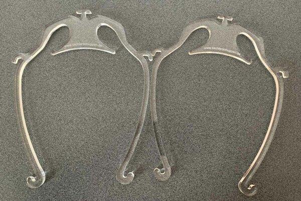 2x Acryl Vervanging-frame