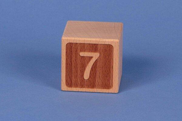 Houten naam blokken 7 negatief
