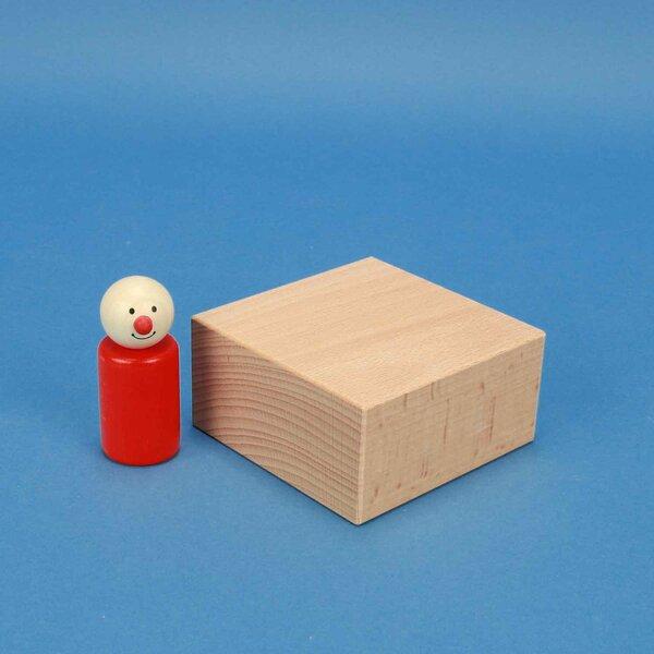 extra grote houten blokken 9 x 9 x 4,5 cm